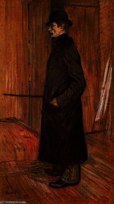 Gaston Bonnefoy de Henri De Toulouse Lautrec (1864-1901, France)