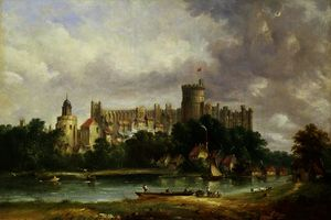 Alfred Vickers - Windsor Castle-from el tá..