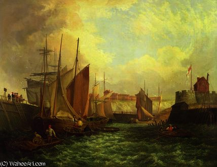 La Boca del Yare de George Vincent (1796-1831, United Kingdom)