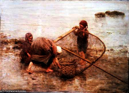 Pescadores escoceses de Robert Mcgregor (1847-1922, United Kingdom)