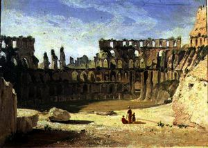 William Leighton Leitch - El Coliseo