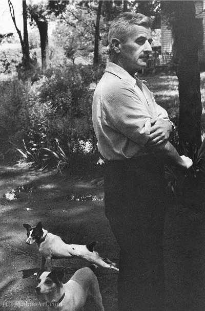 William Faulkner 1947 de Henri Cartier-Bresson (1908-2004, France)