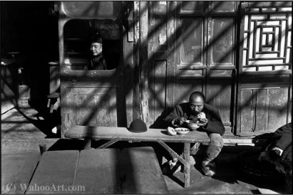 Pekin china grande de Henri Cartier-Bresson (1908-2004, France)