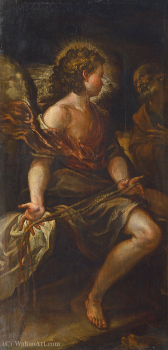 El santo liberación ángel peter de Francisco Rizi (1608-1685, Spain)