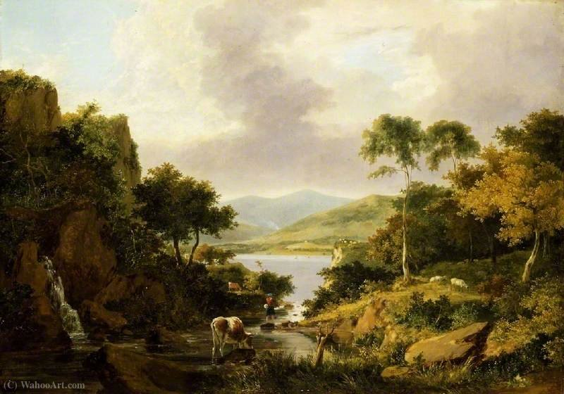 Loch etive, Argyllshire de George Vincent (1796-1831, United Kingdom)