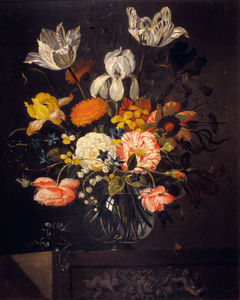 Jacob Marrel - Naturaleza muerta con flores