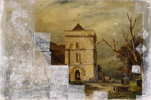 Richard Henry Nibbs - Iglesia Climping, Sussex ..