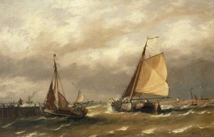 Richard Henry Nibbs - Barcos holandeses que sal..