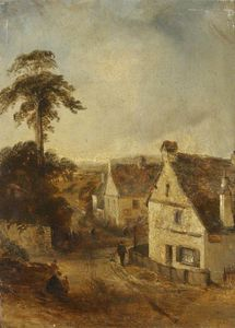 Thomas Colman Dibdin - Ambleside según lo visto de Th..