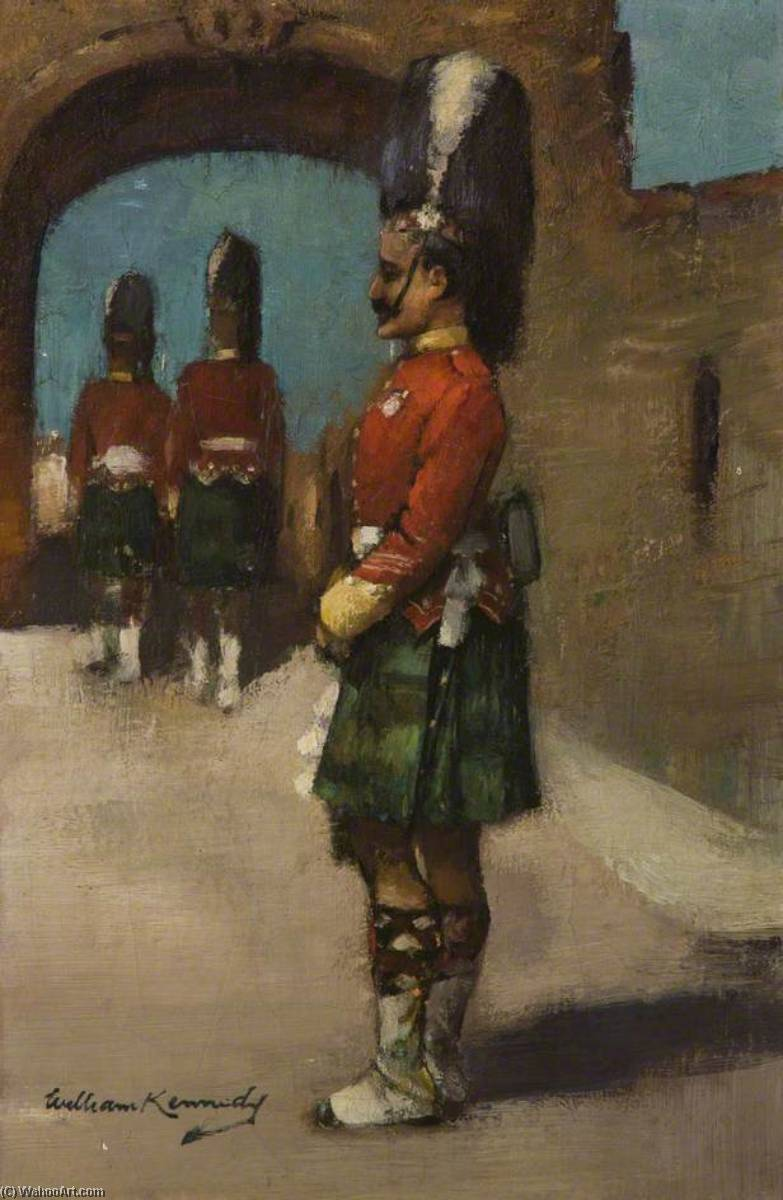 el guardia , Stirling Castillo de William Joseph Kennedy | Arte De La Reproducción | ArtsDot.com