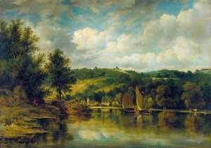 Frederick Waters (William) Watts - En el Wye