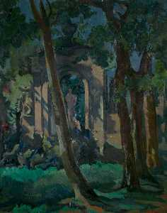 Kenneth Green - Borghese Jardines , Roma
