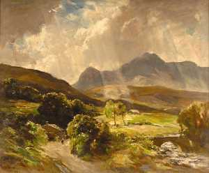 Francis Abel William Tayl.. - cader idris , Snowdonia
