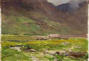 Francis Abel William Tayl.. - Lago Ogwen