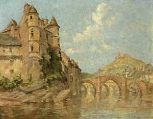 Isobelle Ann Dods Withers - Chateau y dos  puentes