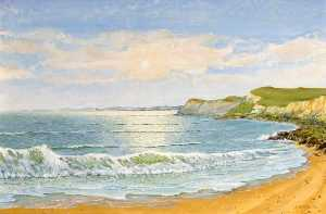 Alfred William Watkin - Dorset La costa