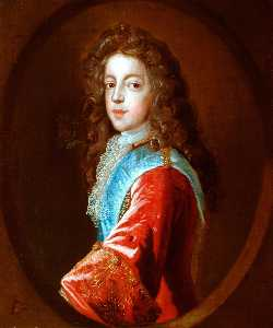 Jean François De Troy - James Francisco Eduardo Stuart ( -Old Pretender- )