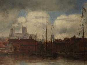 Bernard Sickert - Lincoln Catedral