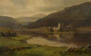 William Scott Myles - Kilchurn Castillo